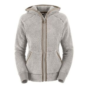 North Face Fleece Bomber Hoodie
